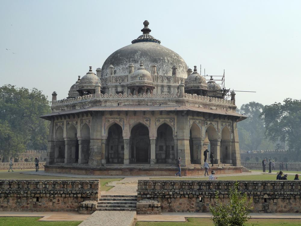 Tomb of Isa Khan, on the grounds of Humayun's Tomb, New Delhi