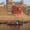 Dawn on the sacred Ganges River, Varanasi