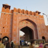 "One of the gates to the ""Pink City"", Jaipur"