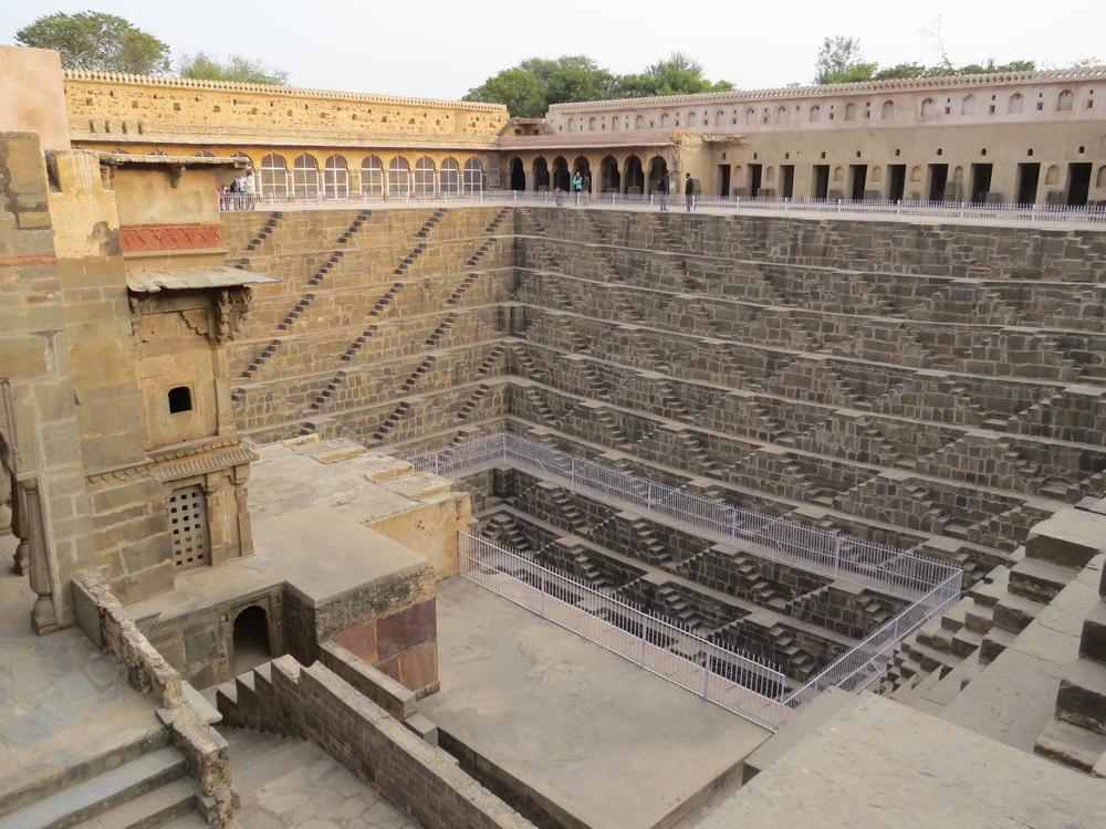 8th century stepwell, Rajasthan