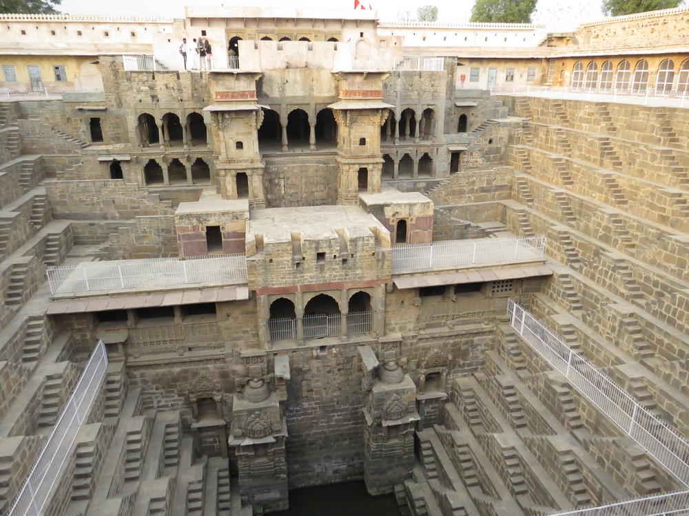 8th century stepwell, Rajasthan