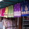 A linen shop in Jojawar, Rajasthan