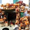 Camel leather goods for sale, Udaipur