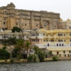 Udaipur's City Palace complex, viewed from Lake Pachola