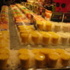 Blended fruit juices (ice with some fruit) are very popular at the La Boqueria Market, Barcelona