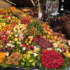 Tempting fruit display, La Boqueria Market, Barcelona