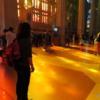 Awash in stained light, La Sagrada Familia, Barcelona
