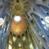Interior roof view, La Sagrada Familia, Barcelona
