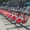 Free bike use program for residents, Plaça de Catalunya, Barcelona
