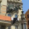 St. George's Dragon, La Ramblas, Barcelona