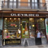 Classsic Modernista grocery of J. Murria Queviures, Eixample district of Barcelona