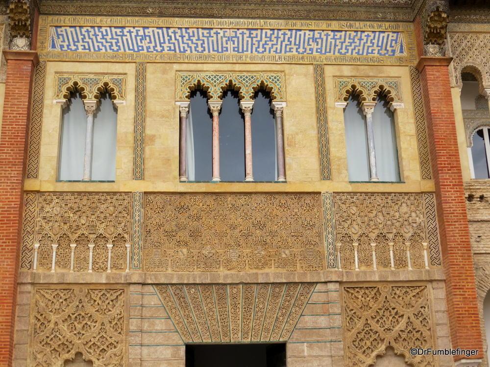 Interior, The Alcazar, Seville