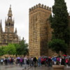 The Alcazar and Cathedral, Seville
