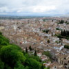 View of the Albacin neighborhood from the Alhambra, Granada