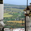 Views of the countryside from the hills of Arcos de la Frontera