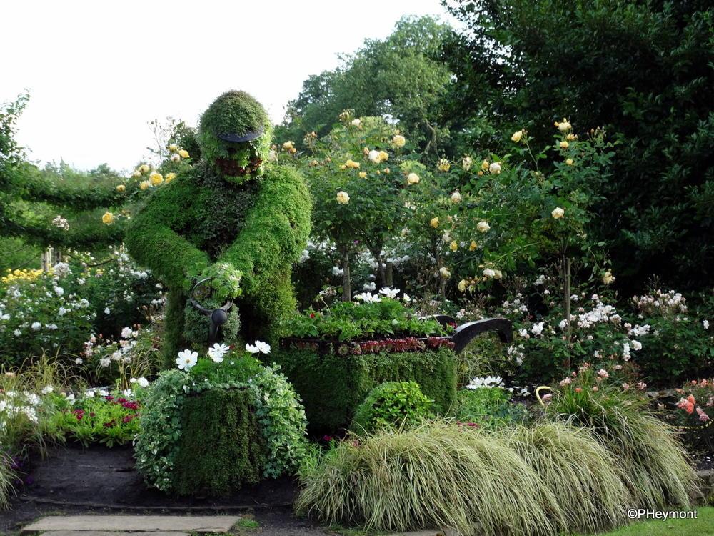 In Queen Mary's Gardens