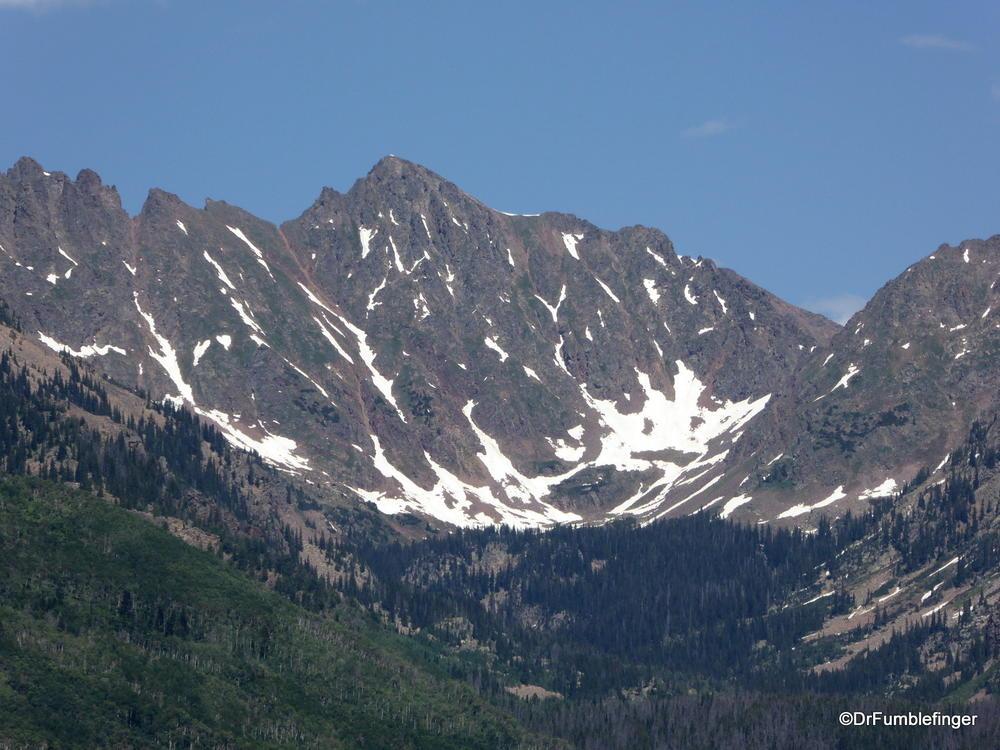 The Gore Range, Colorado