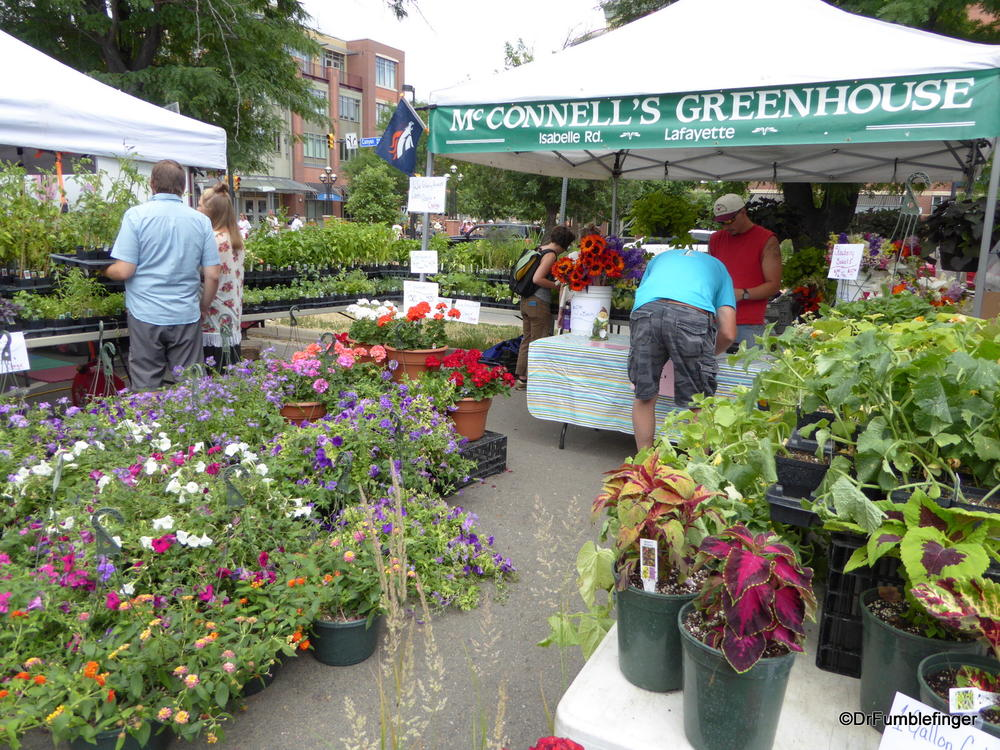 Boulder's Farmers' Market