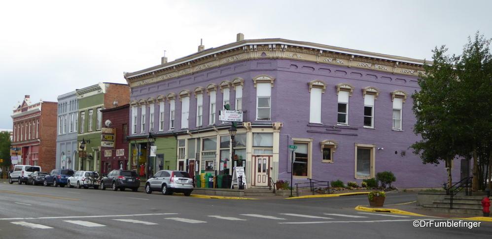 Some shops on Harrison Ave, Leadville