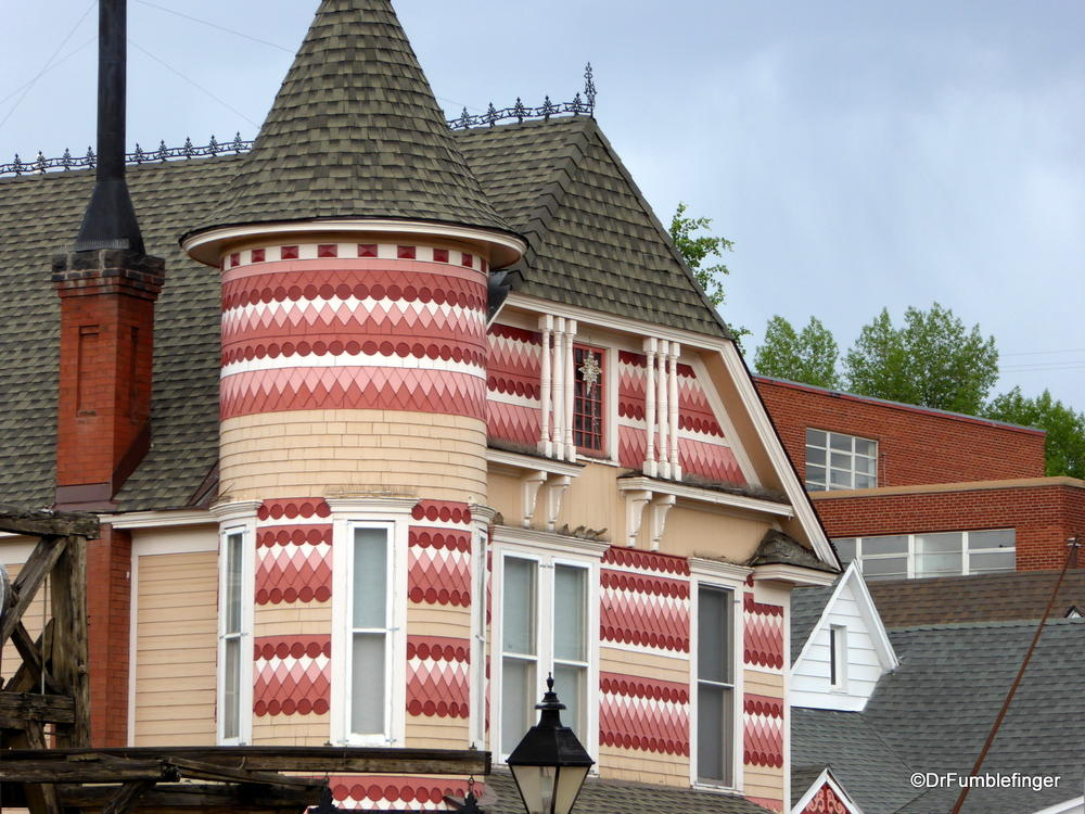 Classic Victorian Gingerbread home, Leadville
