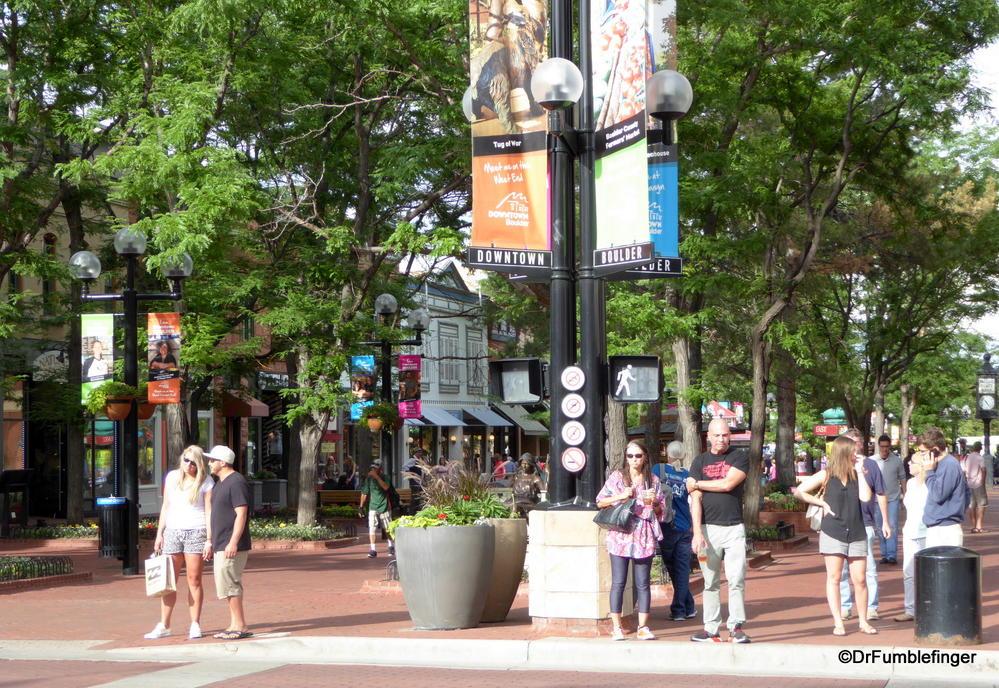 Scene from Pearl Street, Boulder