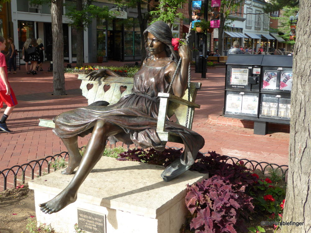 Loved this piece of sculpture, Pearl Street, Boulder