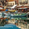 Old Venetian Port at Rethymnon, Crete, Greece.