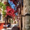 Street scene, Rethymnon, Crete