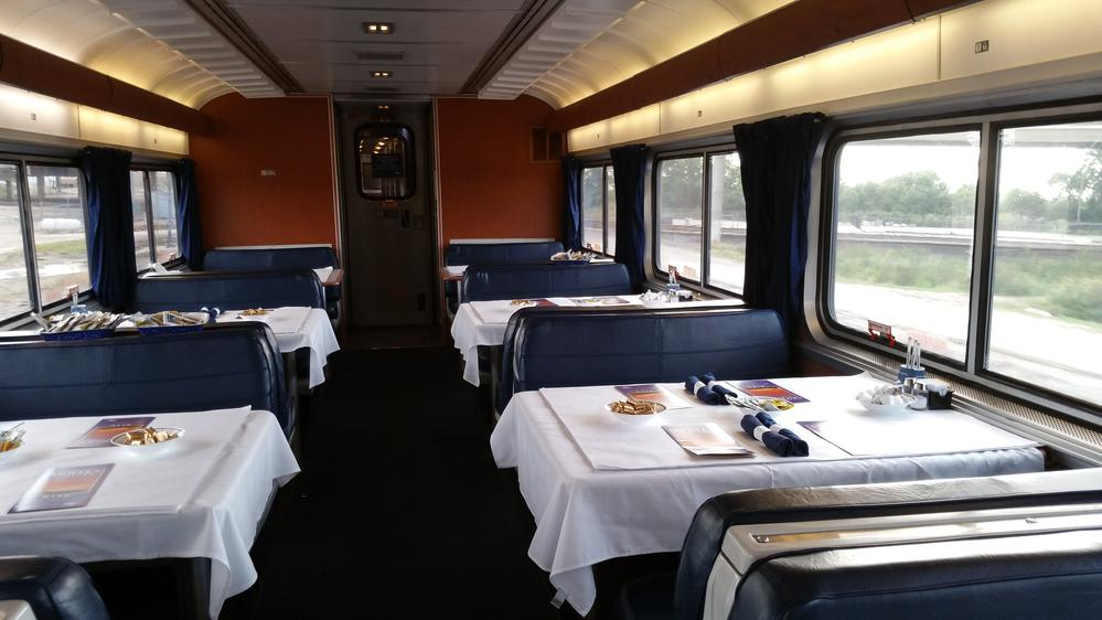 Dining Car, Sunset Limited.