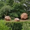 Sculpture at Brooklyn Botanic Garden