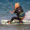 Kite Surfing, Beadnell, Northumberland,UK