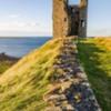 Lilburn Tower Dunstanburgh Castle Northumberland.