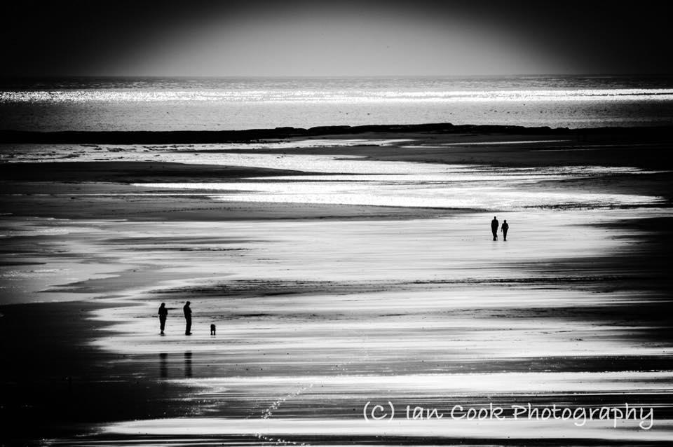 Bamburgh beach, Northumberland.