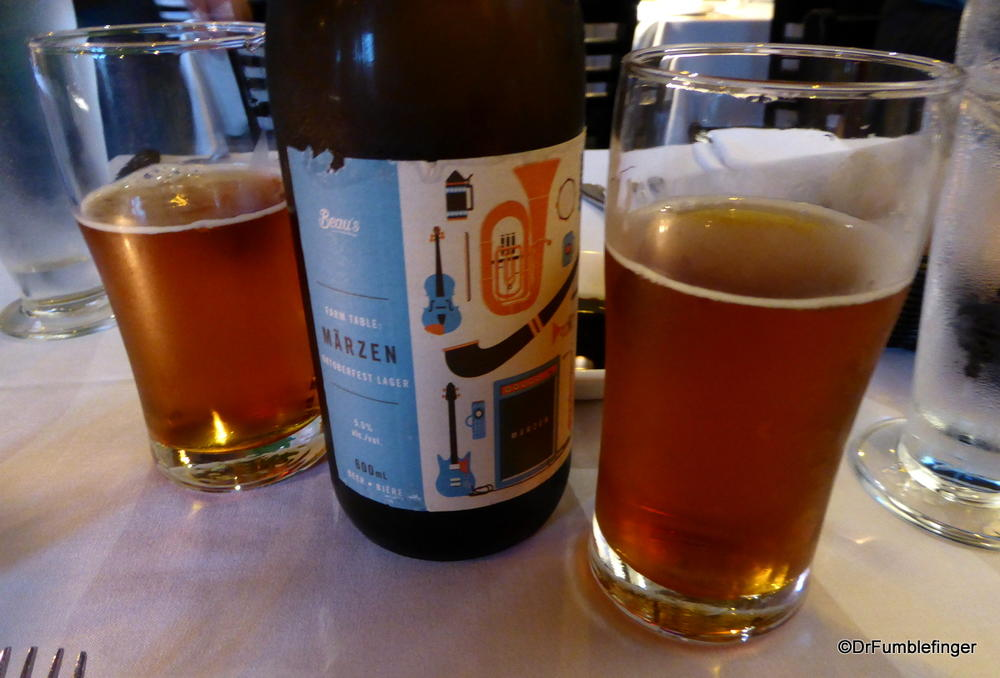 A seasonal harvest ale, from Ottawa