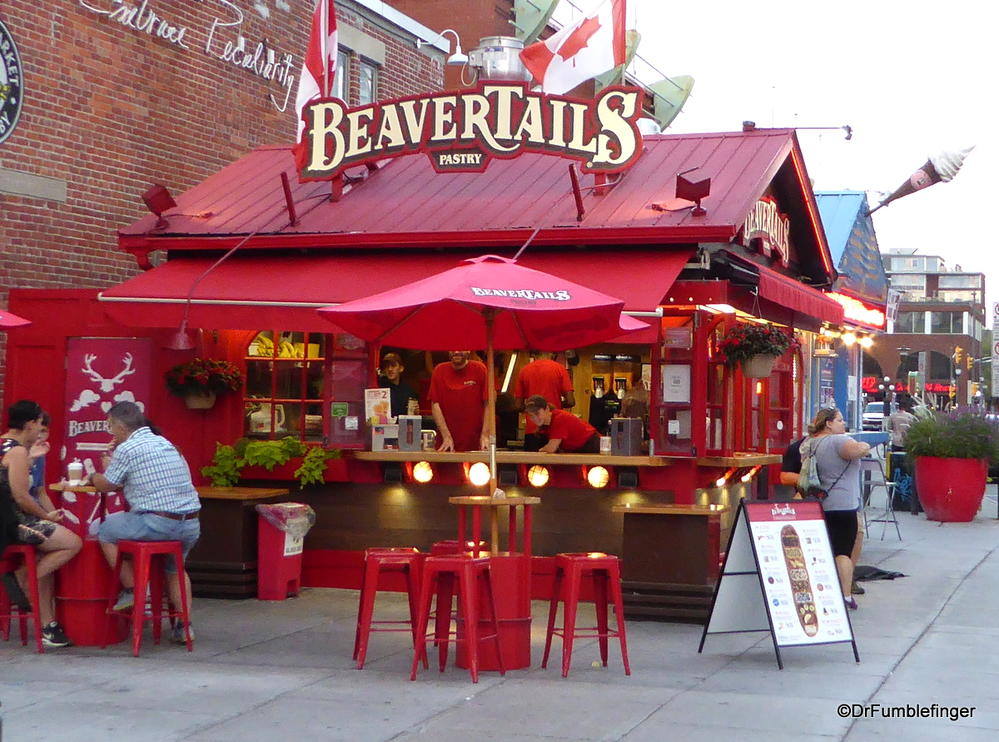 Beavertails, a Canadian frybread