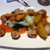 Scallops, risotto, turnips and other veggies.  Wonderful first meal in Halifax!