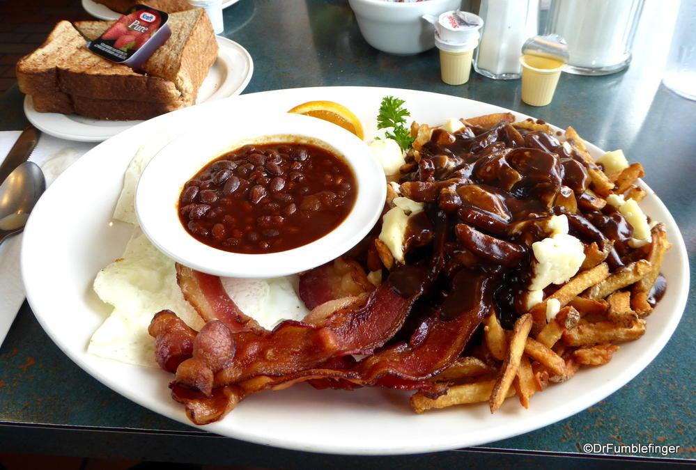 "The ""Hangover Breakfast"" (not mine), at the Elgin Street Diner in Ottawa"