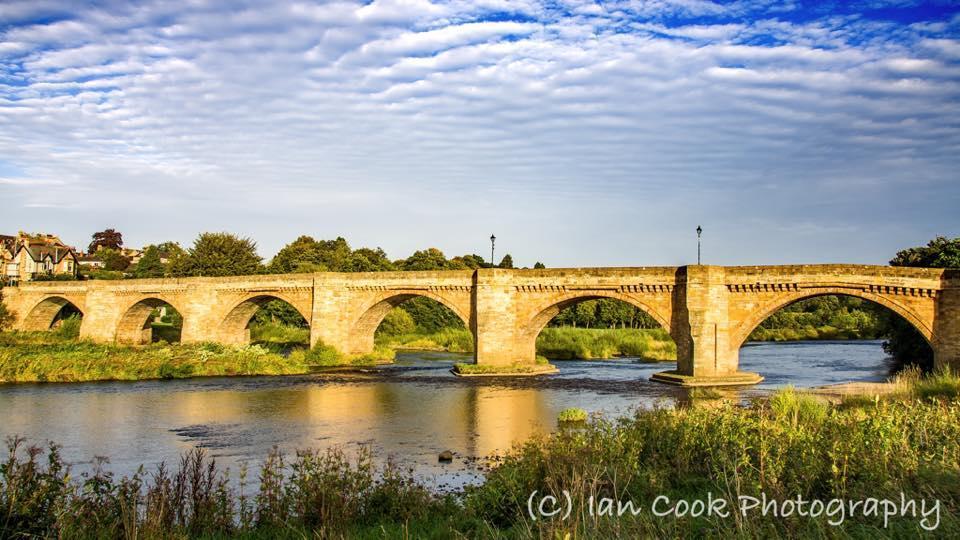 Some nice clouds over Corbridge Northumberland