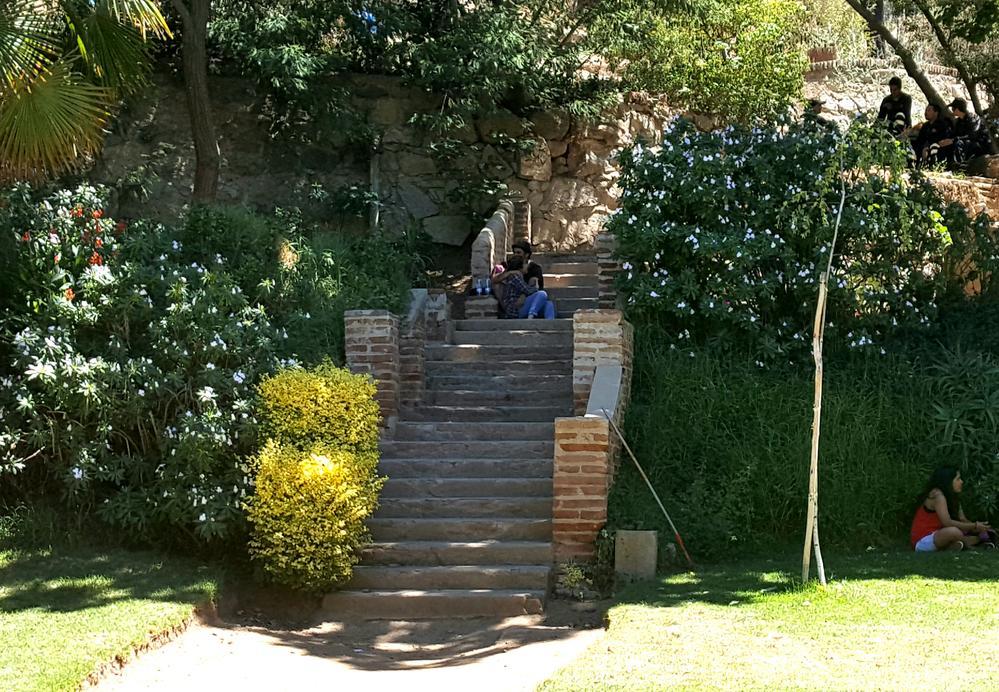 A quiet corner in Quinta Vergara