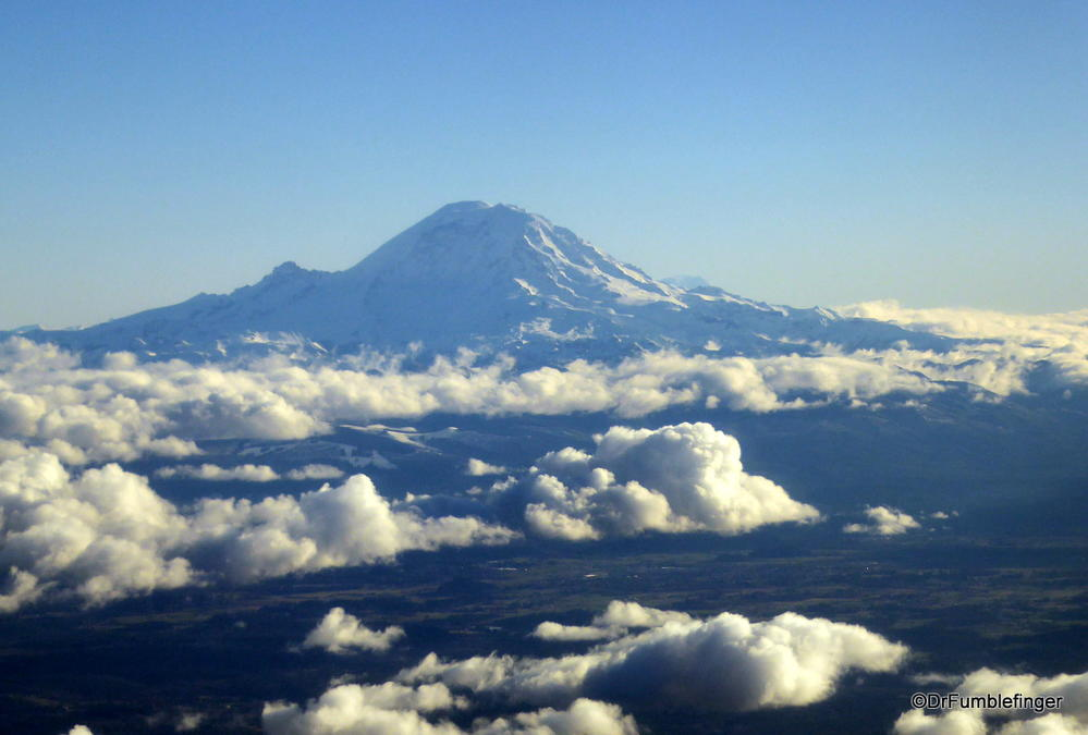 Mt. Rainier, viewed from the west
