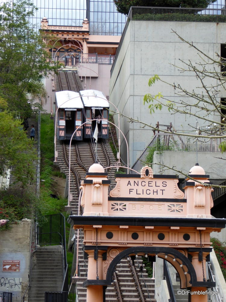 Angel Flight, a funicular in downtown Los Angeles