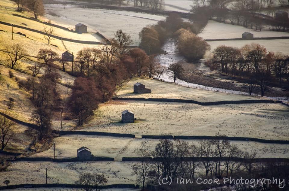 Swaledale Barns, Muker, North Yorkshire.