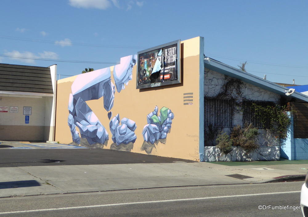 Street art, Little Ethiopia, Los Angeles