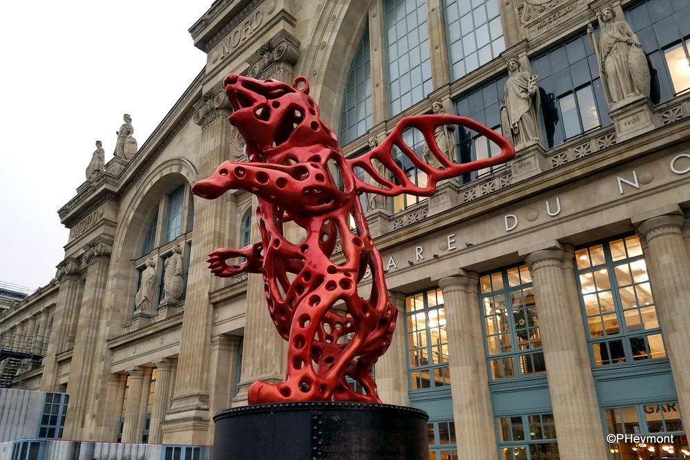 Angel Bear, Gare du Nord