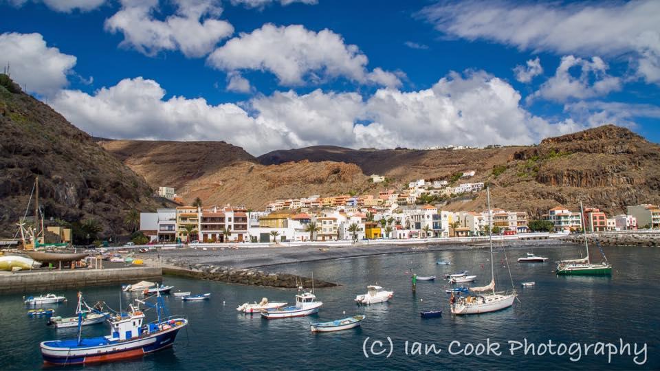 Playa De Santiago Gomera Canary Islands Spain