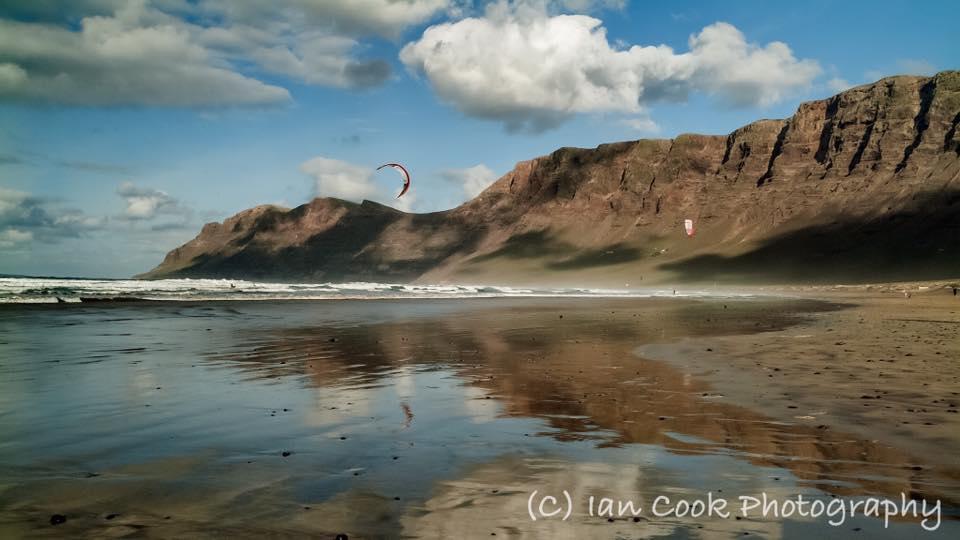 Playa de Famara, Lanzarote, Canary Islands, Spain