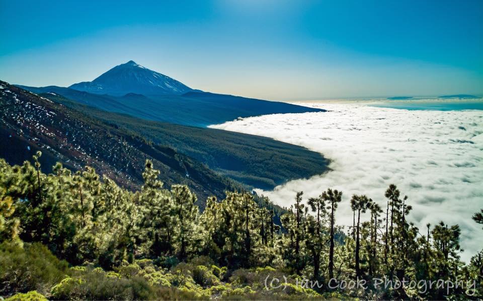 Pico Del Teide from the road to La Esperanza, Las Canadas Del Teide, Tenerife, Canary Islands
