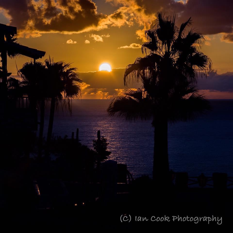 Sunset, Gomera, Canary Islands, Spain