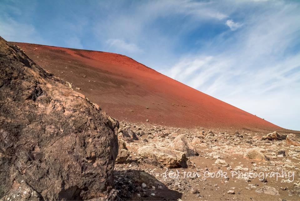 Caldera Colorada , Lanzarote , Canary Islands