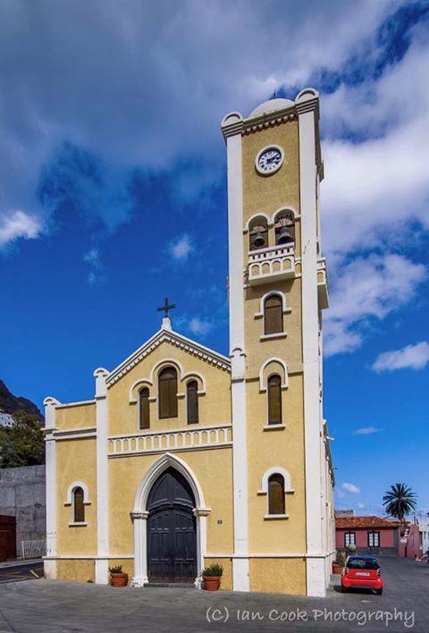 Iglesia De La Encarnacion, Hermigua, Gomera, Canary Islands, Spain.